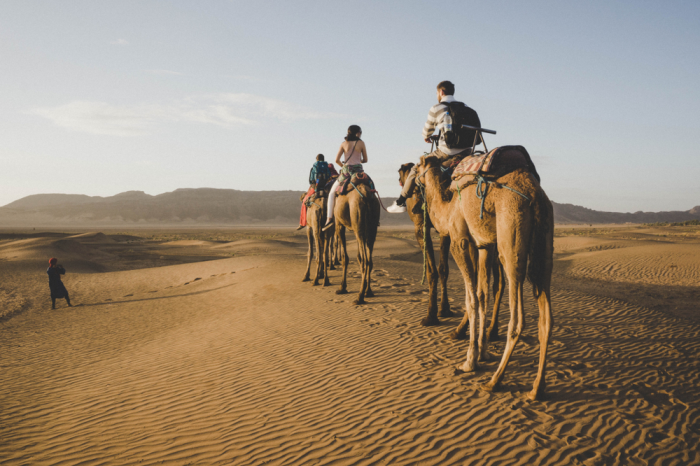 2 Days 1 Night to Zagoura Desert from Marrakech