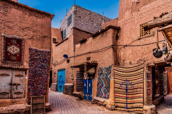 9 Days 8 Nights Package: Marrakech- Desert – Fes – Rif Mountains – Chefchaouen